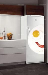 Sticker cuisine frigo omelette