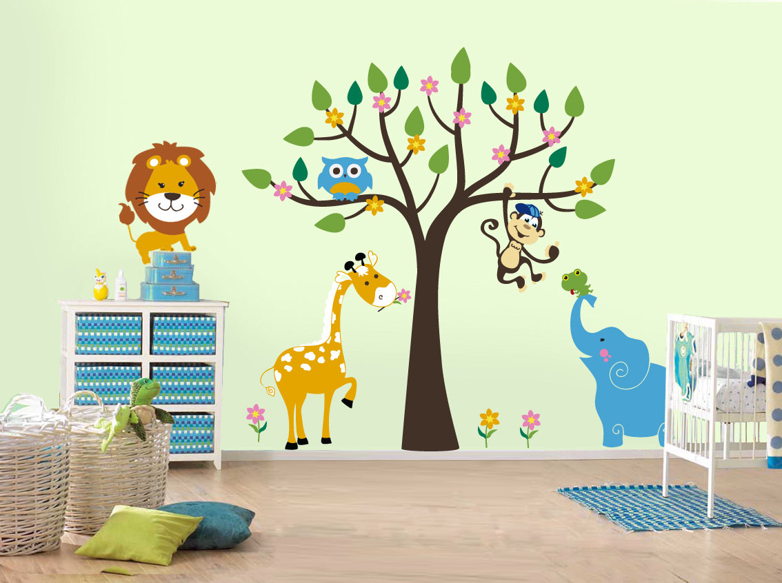 comment d corer une chambre d 39 enfant stickers muralstickers mural. Black Bedroom Furniture Sets. Home Design Ideas