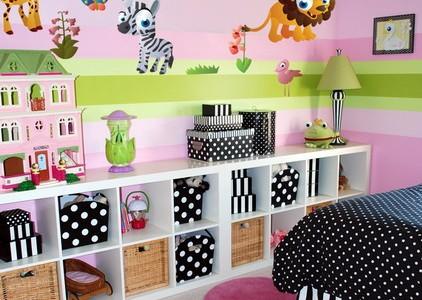 Une déco pour chambre d\'enfants simple et rapide grâce aux stickers ...