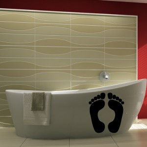 sticker salle de bain