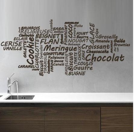 sticker criture pose sticker muralstickers mural. Black Bedroom Furniture Sets. Home Design Ideas