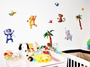 poser un stickers mural