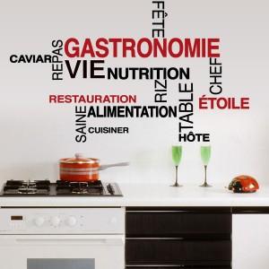 Stickers cuisine mots